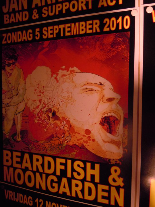 VULGAR TOUR 2010 - Poster Live at De Boerderij (Zoetermeer, Nederlands)