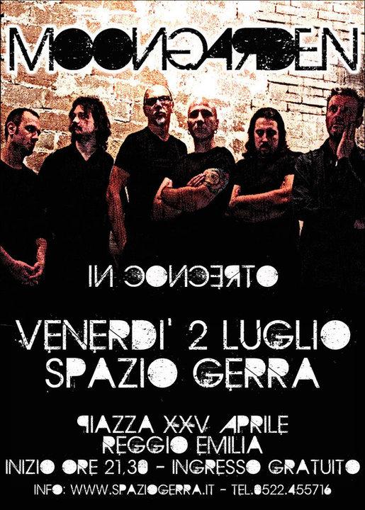 VULGAR TOUR 2009 - Poster Live at Spazio Guerra (Reggio Emilia, Italy)